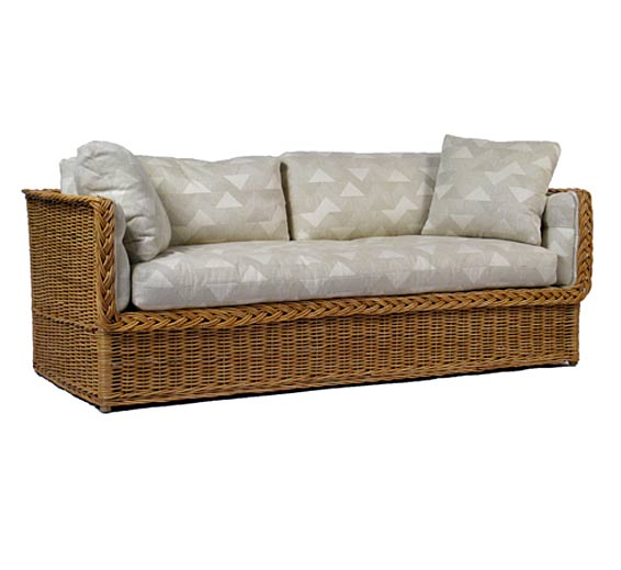 Classic Day Bed Sofa : Wicker : Material : Indoor Furniture : The ...