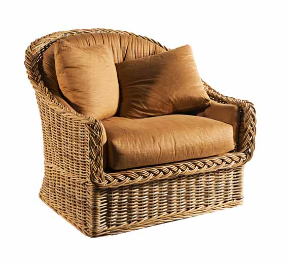 Large Scale Lounge Chair : Wicker : Material : Indoor Furniture ...