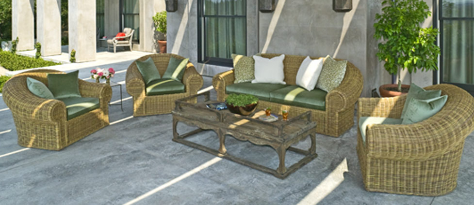 indoor and outdoor wicker high end casual furniture